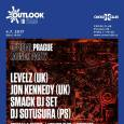 OUTLOOK FESTIVAL OFFICIAL LAUNCHPARTY with LEVELZ (UK)