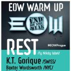 EOW WARM UP & VOLUME PLUS INVITES