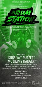 DRUMSTATION W/KURSIVA A JIMMY DANGER / CANNAFEST OFFICIAL AFTERPARTY