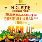 CULTURAL REGGAE VIBEZ WARM-UP & DRUM AND BOUNCE