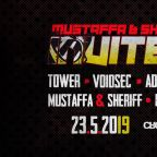 MUSTAFFA and SHERIFF INVITES & STAND-UP COMEDY & TECHNO AFTER