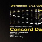 WORMHOLE 98 - 08 w/ CONCORD DAWN (NZ) - OFFICIAL CANNAFEST AFTERPARTY