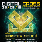 DIGITAL CROSS w/ SINISTER SOULS (NL) & OAT (DE)