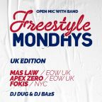 FREESTYLE MONDAYS & DNBEAR