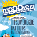 MOOOVE IT! with The Sounddiggers (UK)