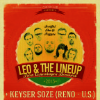 SWING SKA REGGAE NIGHT with LEO & LINEUP (DAN) & KEYSER SOZE SKA (US)