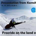 Freeride on the land of volcanos - Kamchatka