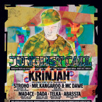 JUNGLIST CALL ft. KRINJAH & Weird Highs stage